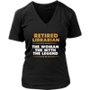 Retired Librarian The Woman The Myth The Legend - Awesome Librarians - 10