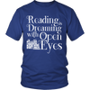 Reading Is Dreaming With Open Eyes Shirt - Awesome Librarians - 3
