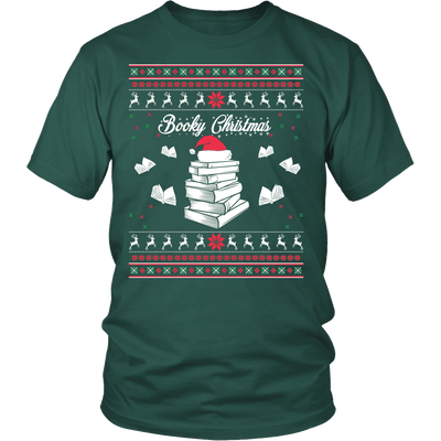 Readers Booky Christmas Sweater - Awesome Librarians - 4