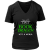 I Am A Book Dragon Not A Worm Shirt - Awesome Librarians - 11