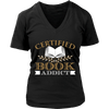Certified Book Addict Shirt - Awesome Librarians