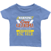 Warning I Have A Crazy Grandma [She's A Teacher] And I'm Not Afraid To Use Her Youth Shirts
