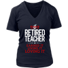 Retired Teacher Earned It Living It Loving It Shirt - Awesome Librarians - 11