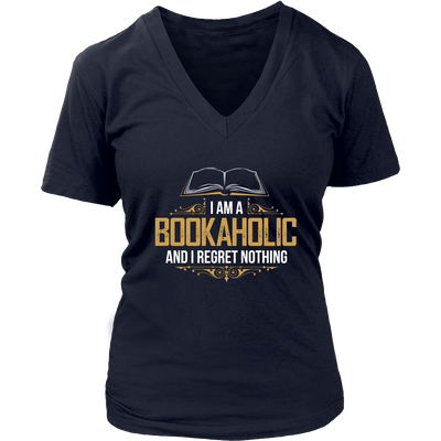 I Am A Bookaholic And I Regret Nothing - Awesome Librarians