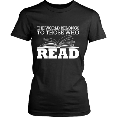 The World Belongs To Those Who Read - Awesome Librarians - 1