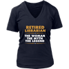 Retired Librarian The Woman The Myth The Legend - Awesome Librarians - 12