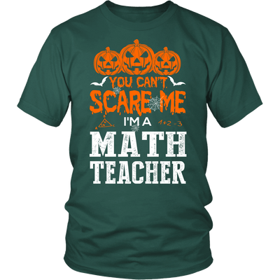 You Can't Scare Me I'm A Math Teacher - Awesome Librarians - 2