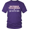 Retired Teacher Every Child Left Behind Shirt - Awesome Librarians - 3