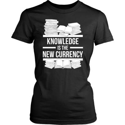 Knowledge Is The New Currency Shirt