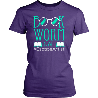 Book Worm Nah #Escape Artist Shirt - Awesome Librarians - 6
