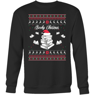 Readers Booky Christmas Sweater - Awesome Librarians - 1