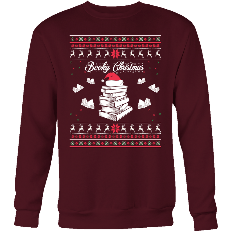 Readers Booky Christmas Sweater - Awesome Librarians