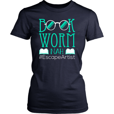 Book Worm Nah #Escape Artist Shirt - Awesome Librarians - 8