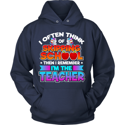 I Often Think Of Skipping School Then I Remember I'm The Teacher - Awesome Librarians - 6