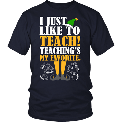 I Just Like To Teach! Teaching's My Favorite - Awesome Librarians - 4