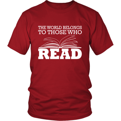 The World Belongs To Those Who Read - Awesome Librarians - 3