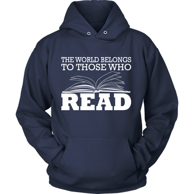 The World Belongs To Those Who Read - Awesome Librarians - 7