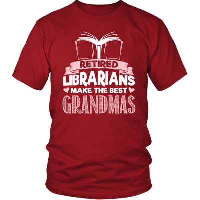 Retired Librarians Make The Best Grandmas - Awesome Librarians - 2