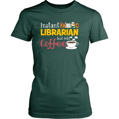 Instant Librarian Just Add Coffe - Awesome Librarians - 8