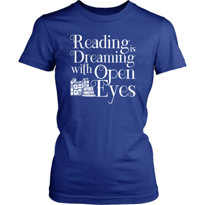 Reading Is Dreaming With Open Eyes Shirt - Awesome Librarians - 7