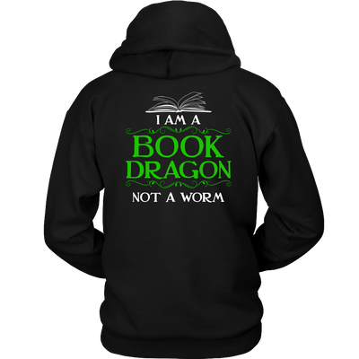 Book Dragon Shirt (Back) - Awesome Librarians - 6