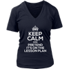 Keep Calm And Pretend It's On The Lesson Plan Shirt - Awesome Librarians - 12
