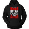 Real Heroes Don't Wear Capes They Teach Shirt - Awesome Librarians - 13