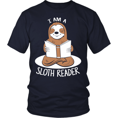 I Am A Sloth Reader Shirt