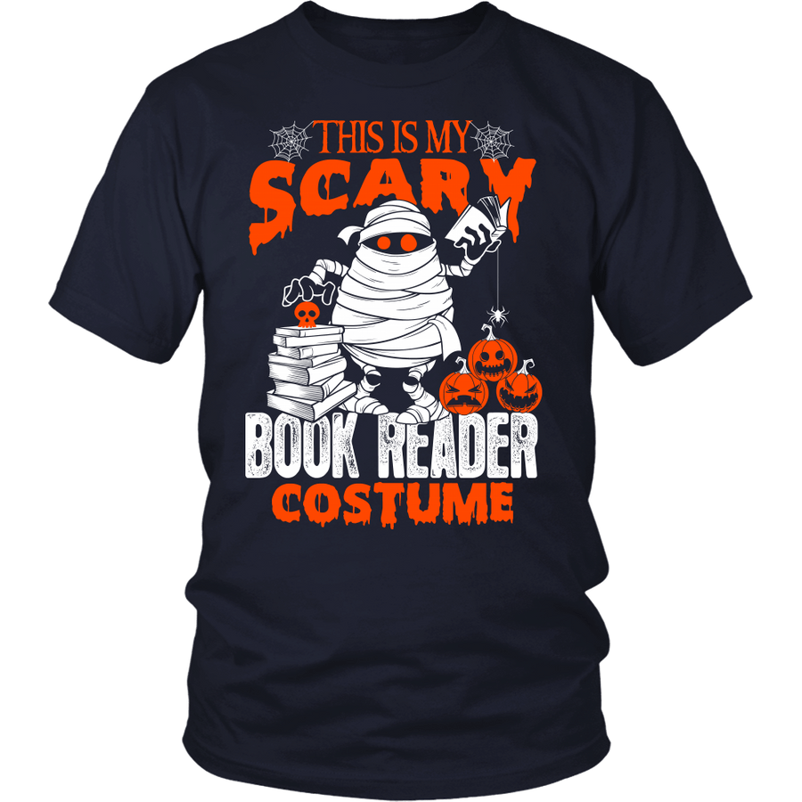 This Is My Scary Book Reader Costume - Awesome Librarians - 1