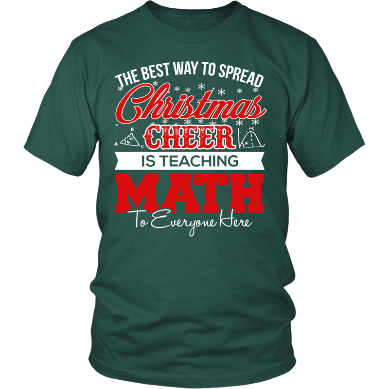 The Best Way To Spread Christmas Cheer Is Teaching Math - Awesome Librarians - 1
