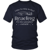 I Like To Stay In Bed Reading It's Too Peopley Outside Shirt - Awesome Librarians