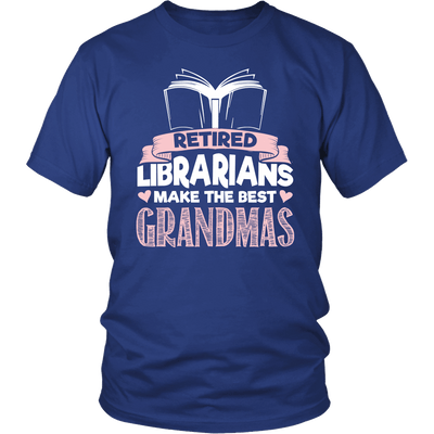 Retired Librarians Make The Best Grandmas - Awesome Librarians - 1