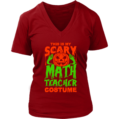 This Is My Scary Math Teacher Costume - Awesome Librarians