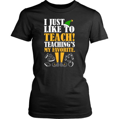 I Just Like To Teach! Teaching's My Favorite - Awesome Librarians