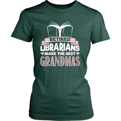 Retired Librarians Make The Best Grandmas - Awesome Librarians - 11