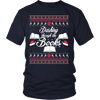 Readers Dashing Through The Books Christmas Sweater - Awesome Librarians - 3
