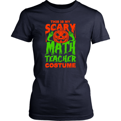 This Is My Scary Math Teacher Costume - Awesome Librarians - 9