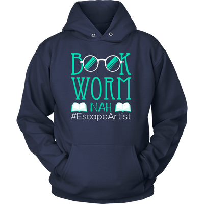 Book Worm Nah #Escape Artist Shirt - Awesome Librarians - 13