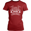 Never Underestimate The Power Of A Grandma With A Teaching Degree Shirt - Awesome Librarians