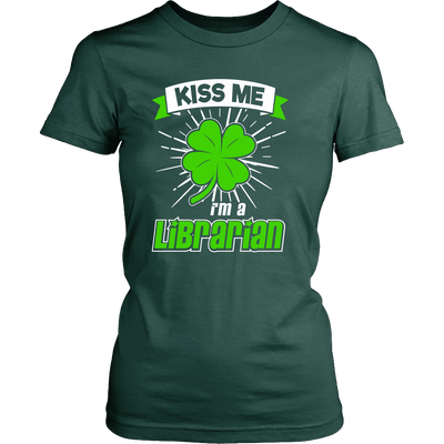 Kiss Me I'm A Librarian - Awesome Librarians