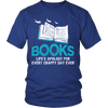 Books Life's Apology For Every Crappy Day Ever Shirt - Awesome Librarians - 3