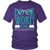 Book Worm Nah #Escape Artist Shirt - Awesome Librarians - 3
