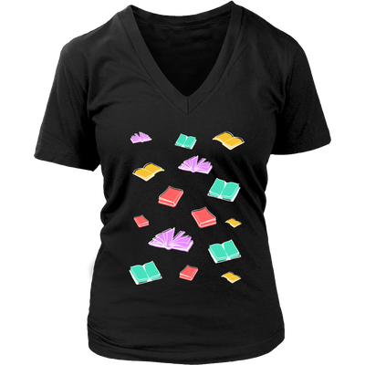 Book Pattern Shirt - Awesome Librarians