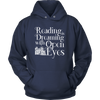 Reading Is Dreaming With Open Eyes Shirt - Awesome Librarians - 2