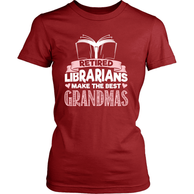 Retired Librarians Make The Best Grandmas - Awesome Librarians - 10