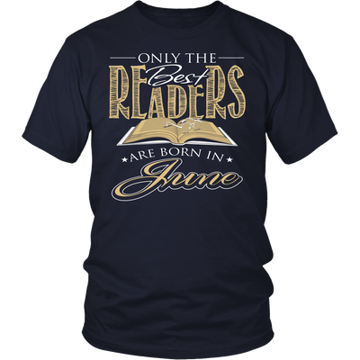 Only The Best Readers Are Born In June Shirt - Awesome Librarians