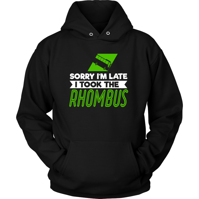 Sorry I'm Late I Took The Rhombus Shirt - Awesome Librarians