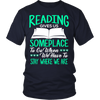 Reading Gives Us Someplace To Go When We Have To Stay Where We Are Shirt - Awesome Librarians - 3