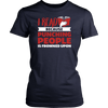 I Read Because Punching People Is Frowned Upon Shirt