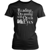 Reading Is Dreaming With Open Eyes Shirt - Awesome Librarians - 5